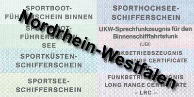 Bootsführerschein NRW Nordrhein-Westfalen